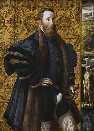 Portrait of Pier Maria Rossi di San Secondo - Image: Parmigianino, ritratto di pier maria rossi di sansecondo 01