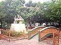 Parque Central, monumento a Luis A. Calvo en Agua de Dios - panoramio.jpg
