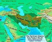 Partsko cesarstvo okoli leta 1 n. št.