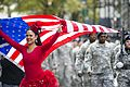 Participants march up Fifth Avenue in New York Nov. 11, 2013, during a Veterans Day parade as part of Veterans Week NYC 131111-N-UE577-666.jpg
