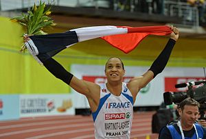 2015 European Athletics Indoor Championships – Men's 60 metres hurdles - The winner, Pascal Martinot-Lagarde