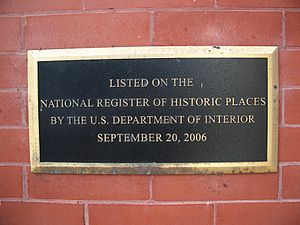 Pasco County Courthouse - Image: Pasco Cty Courthouse Dade City plaque 01