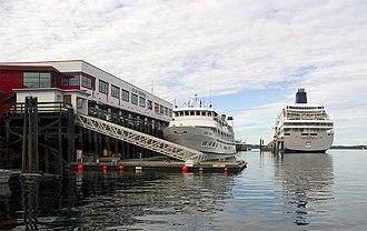 Prince Rupert Port Authority - Passenger terminal, Prince Rupert.