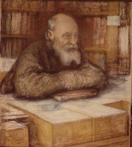 Николай Фёдоров. Портрет работы Леонида Пастернака)