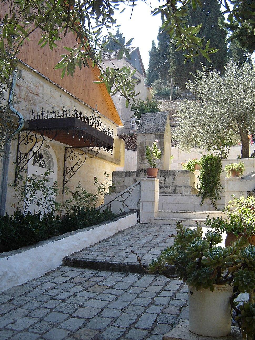 Path way in gorney monastery