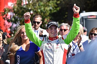 Patricio OWard Mexican racing driver