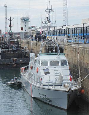 Maritime Gendarmerie - Image: Patrouilleur Géranium Gendarmerie maritime