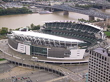Description de l'image Paul Brown Stadium.JPG.