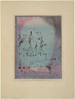 Paul Klee, Maszyna do ćwierkania, 1922
