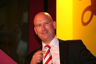 Paul Nuttall - Nuttall speaking in 2009