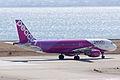 Peach Aviation ,MM103 ,Airbus A320-214 ,JA808P ,Departed to Sapporo ,Kansai Airport (16480818830).jpg