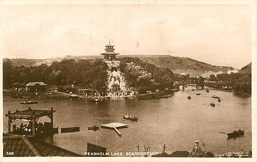 Peasholm Park, Scarborough 1932 (archive ref PO-3-45-87) (34823312552)