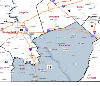 Pennsylvanias 11th congressional district