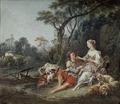 Pense-t-il aux raisins? (François Boucher) - Nationalmuseum - 17776.tif