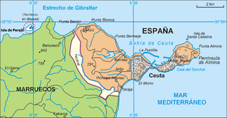 Peninsula of Almina - Ceuta and Península de Almina
