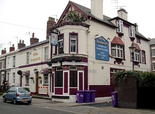 Liverpool, England - Peter Kavanagh's pub
