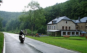 Sport bike - Touring with a passenger on an open class Suzuki Hayabusa.