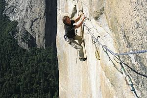 Big wall climbing - Big wall climbing in Yosemite