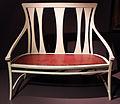 Peter behrens per la manifattura j. d. heymann, divanetto, amburgo 1900-01.JPG