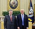 Petro Poroshenko and Donald Trump in the Oval Office, June 2017 (9).jpg