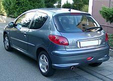 Peugeot 206 – Wikipedia, wolna encyklopedia