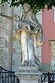 Pfarrkirche Verklärung Christi, Murstetten - statue of St. Anthony.jpg