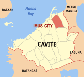 Ph locator cavite imus.png