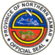 Official seal of Norte san Samar