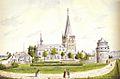 Ph v Gulpen, St-Martinuskerk en Wycker Kruittoren, Wyck-Maastricht.jpg