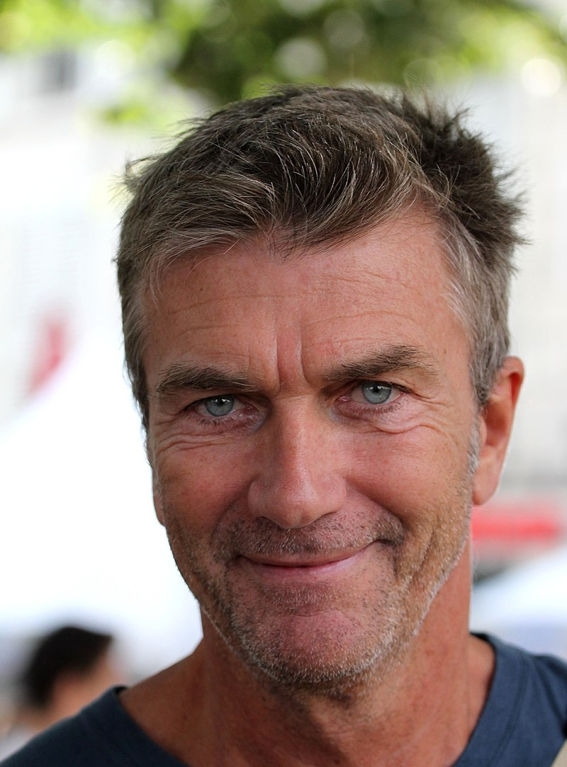 L' Acteur Philippe Caroit au Festival de la Fiction TV à La Rochelle. | Photo : Wikimedia