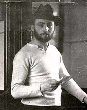 Borough Road Gallery - The painter David Bomberg, whose pictures feature in the Borough Road Gallery.