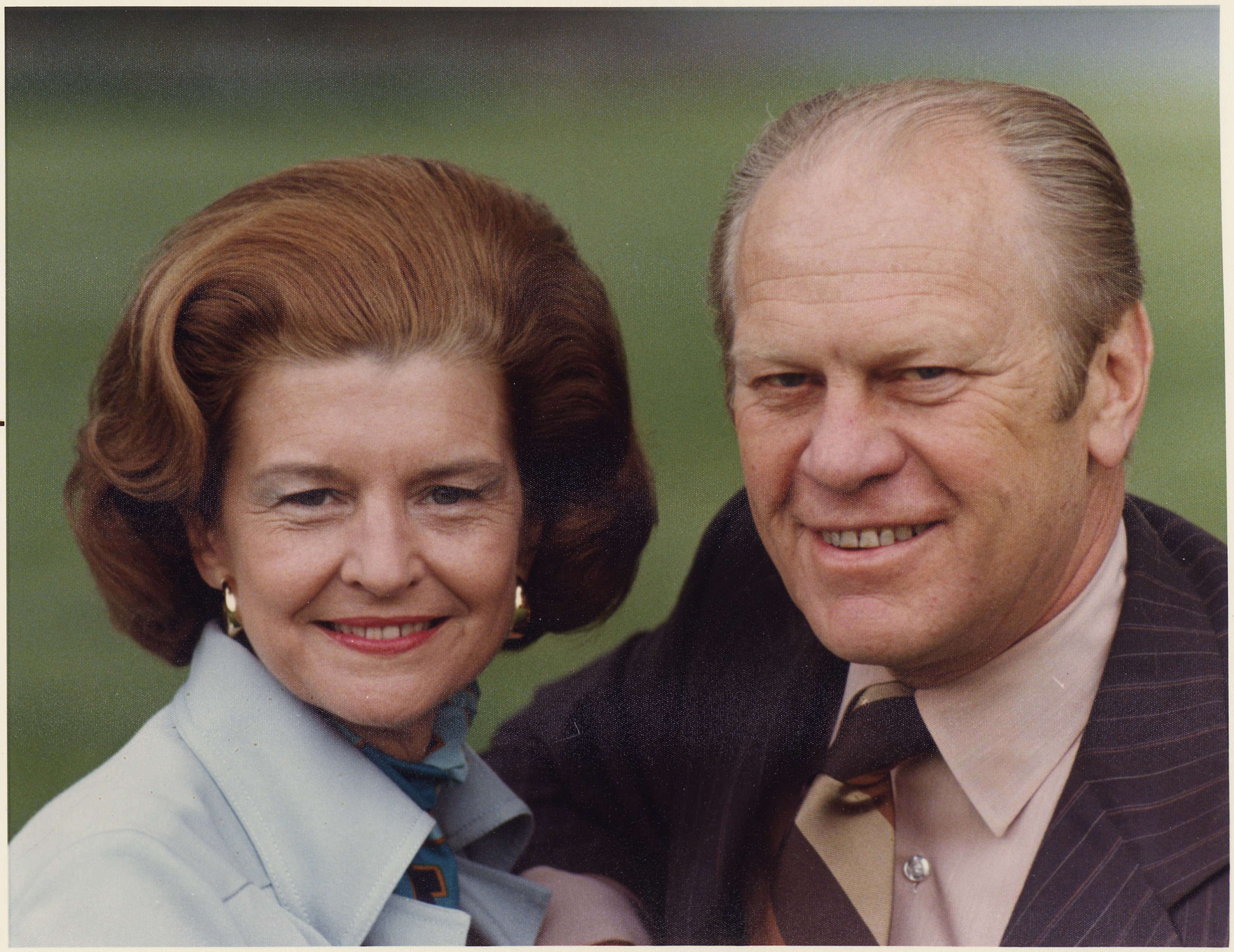 File Photograph Of President Gerald Ford And First Lady