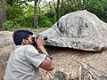Photographer taking photo of Psammophilus spp from Anaimalai hills IMG 20180421 165642507 HDR.jpg
