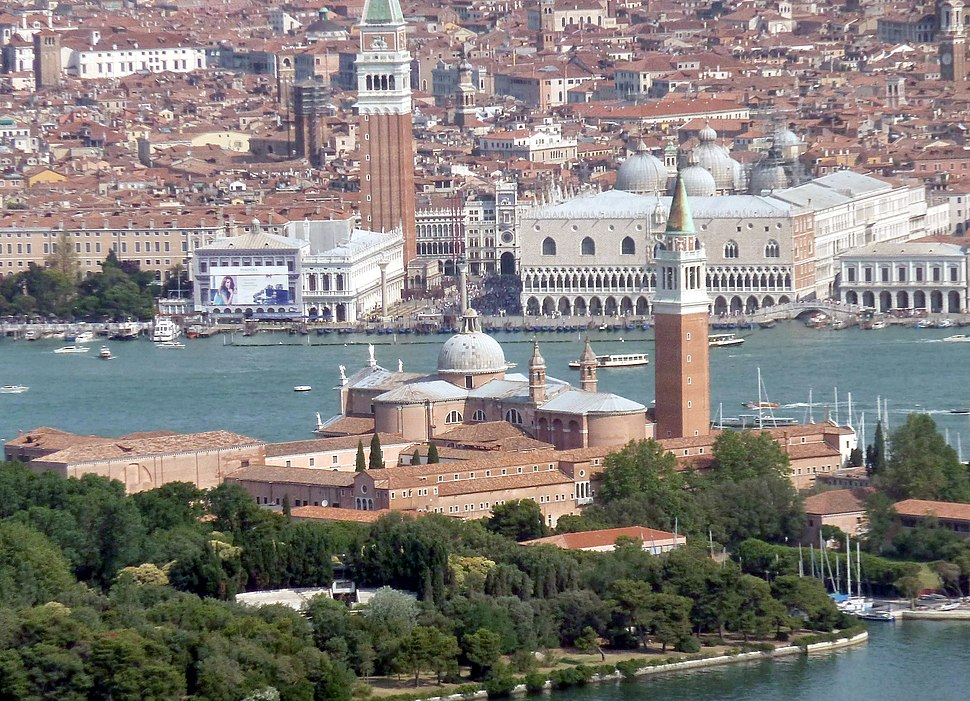 Piazza San Marco (dal mare)