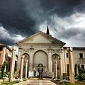 Piazza Sant'Agostino with black clouds.jpg