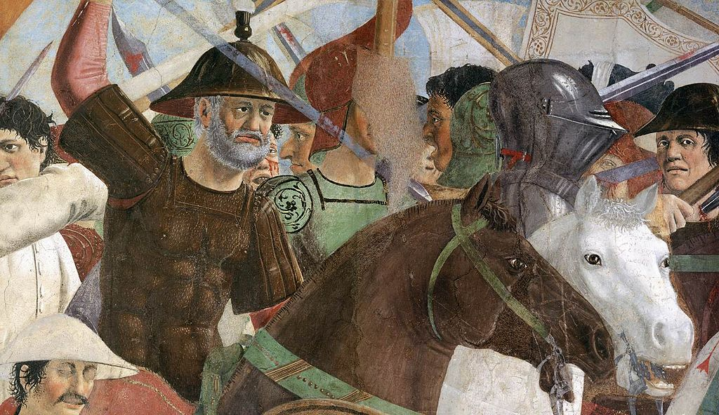 Piero della Francesca - 8. Battle between Heraclius and Chosroes (detail) - WGA17558