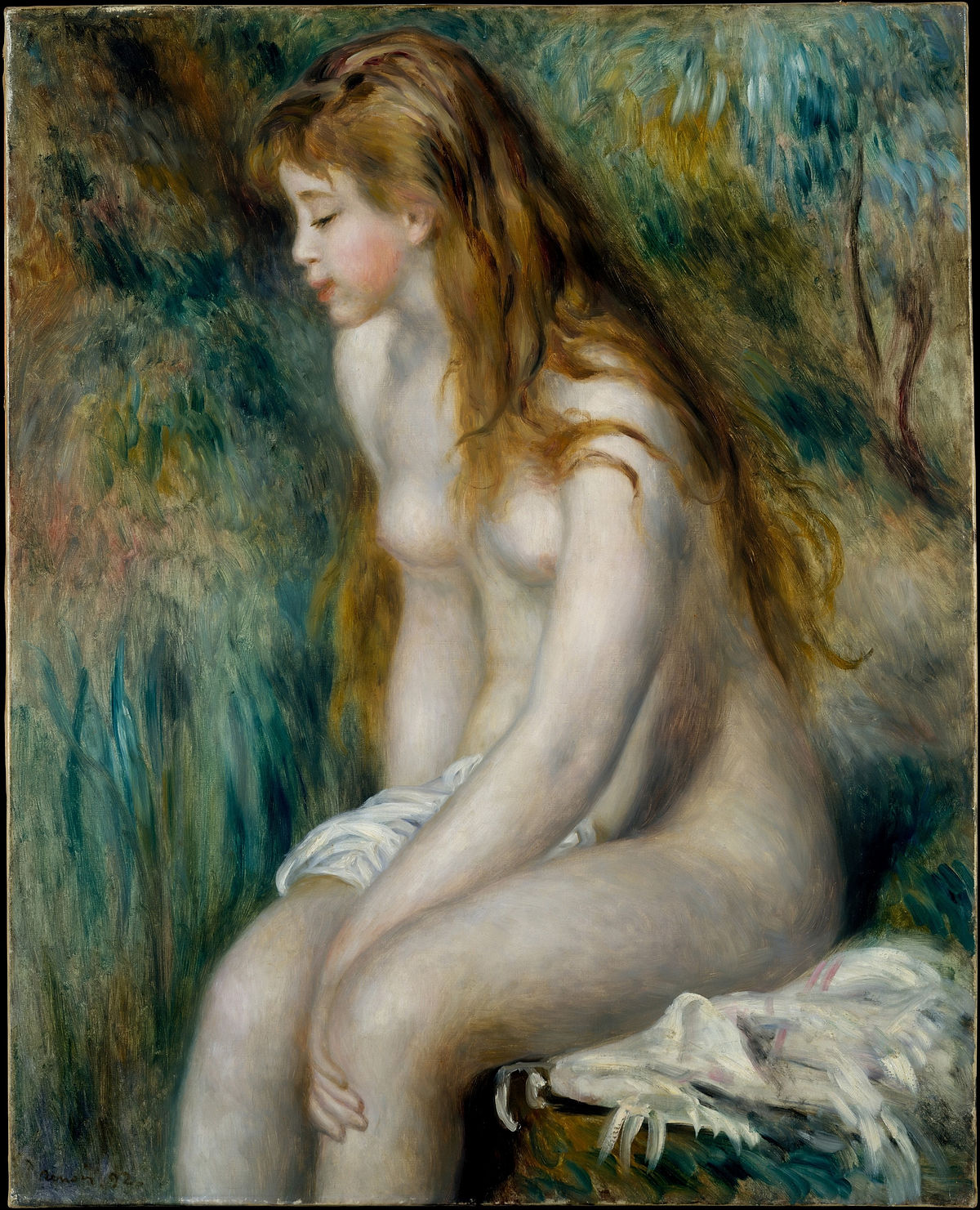 Женщина голая и не молодая — 1