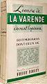 """Pierre Dolley, """"L'oeuvre de La Varende devant l'opinion"""", 1952.jpg"""