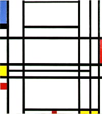 Piet Mondriaan, 1939-1942 - Composition 10.jpg