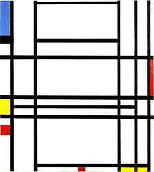 Piet Mondrian: Composition No. 10