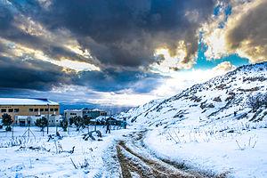 Majdal Shams - Majdal Shams in winter