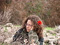 PikiWiki Israel 38195 Pretty Girl in a hike at the begging of the spring.JPG