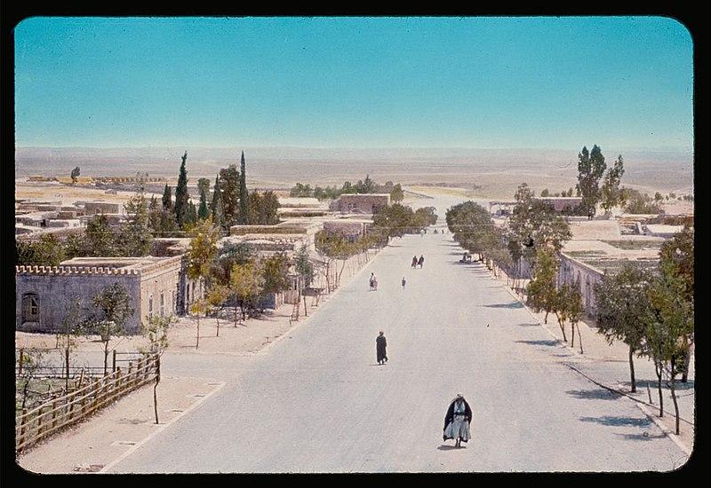 הרחוב הראשי בבאר שבע