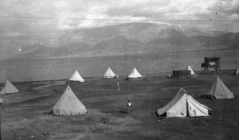 מחנה הפועלים בים המלח