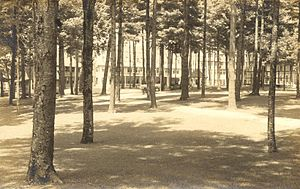 Chesterfield, New Hampshire - Image: Pine Grove Springs Hotel, Spofford Lake, Chesterfield, NH