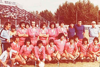 Club Atlético Piraña - The team that won the Primera D title in 1978.