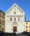 Pisa, santa caterina, facciata 01.jpg