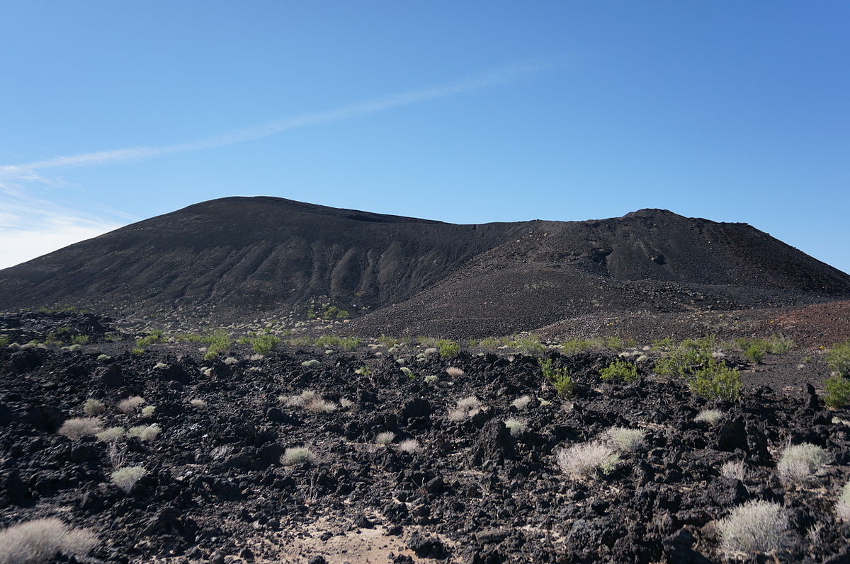 Three Active Volcanoes in California's Mojave Desert