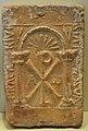 Placa de sostre, segle V - VII dC. Museu de Ceràmica de València.JPG