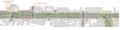 Plan Tramway ligne A et B Boulevard Carnot cente ville Angers .png
